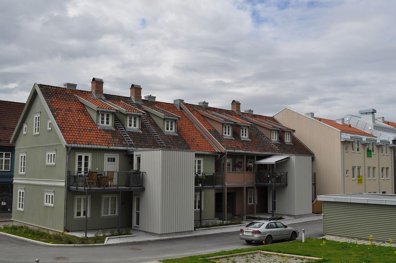 Renovering av bygårder i Drammen