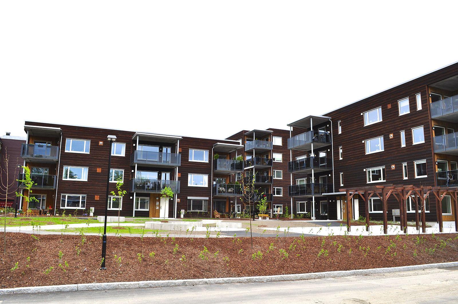 Nytt boligkompleks på Risenga